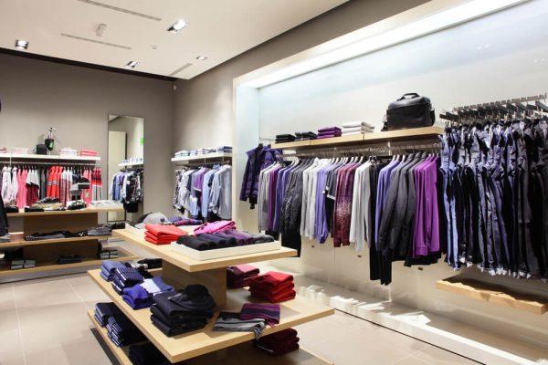 Imagem de loja mostrando o design no PDV